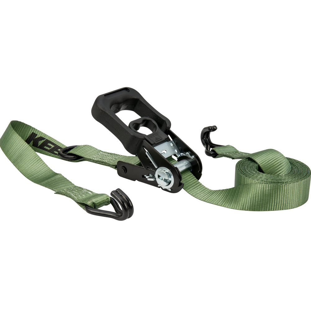 Keeper Corporation 1-1/4 Inch x 12-Foot Ratchet Tie-Down 47211