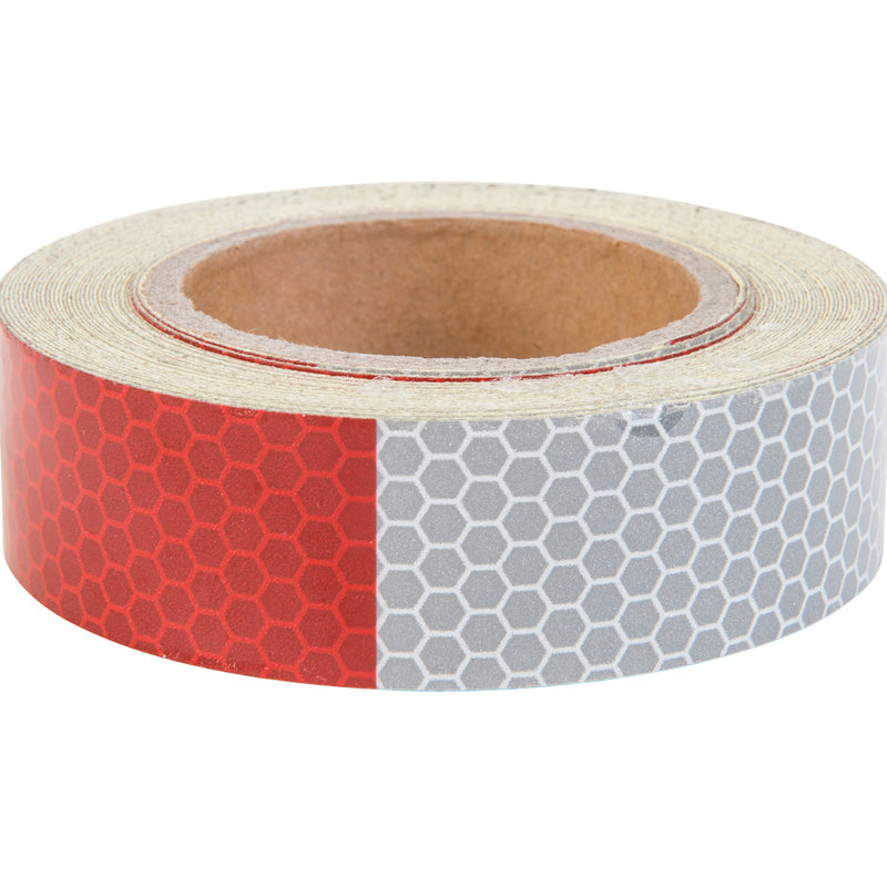 Keeper Corporation Safety Tape 1-Inch x 25-Foot Red And White