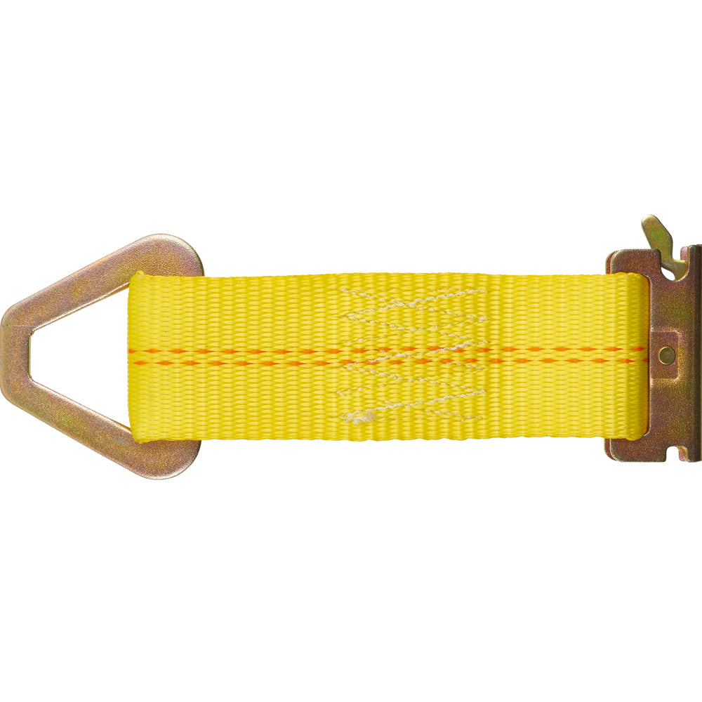 Keeper Corporation 7-Inch E-Track Tie-Off Strap 47801