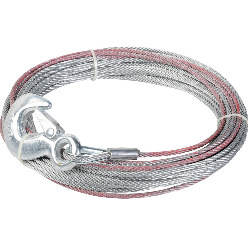 Keeper Corporation Wire Rope With A Hook 5/32-Inch x 50-Foot