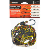 Keeper Corporation Bungee Cord Multi-Pack 6-Pieces
