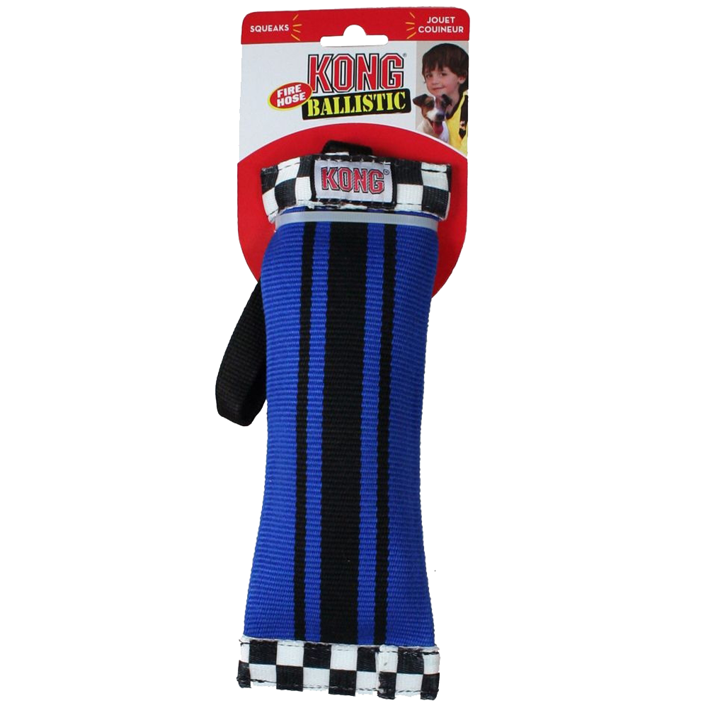 Fire Hose Sqwuggie Dog Toy Large