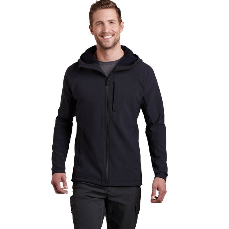 Kuhl Mens Medium Protektr Hoody Raven