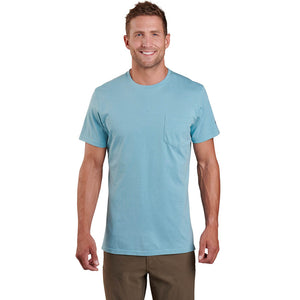 Mens Large Mountain Culture T Polar Blue