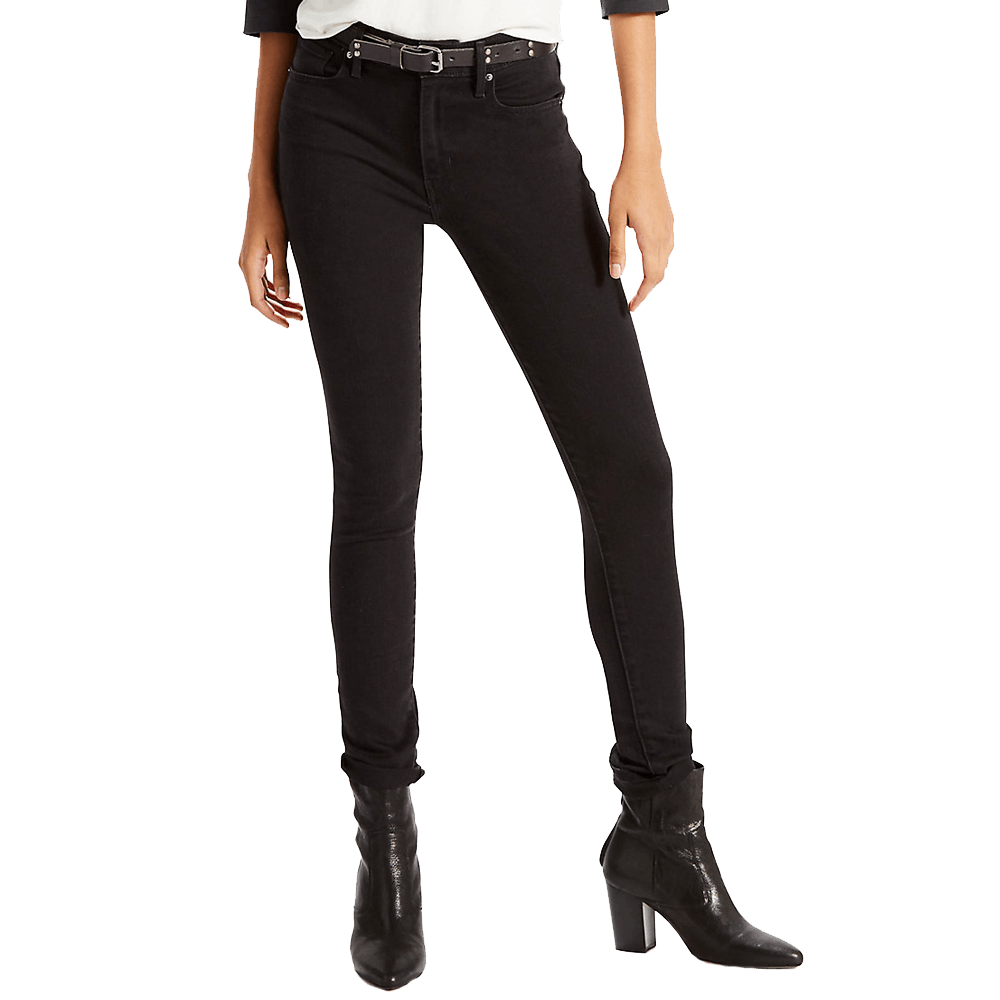 26x28 Women's 721 High Rise Skinny Jeans Soft Black