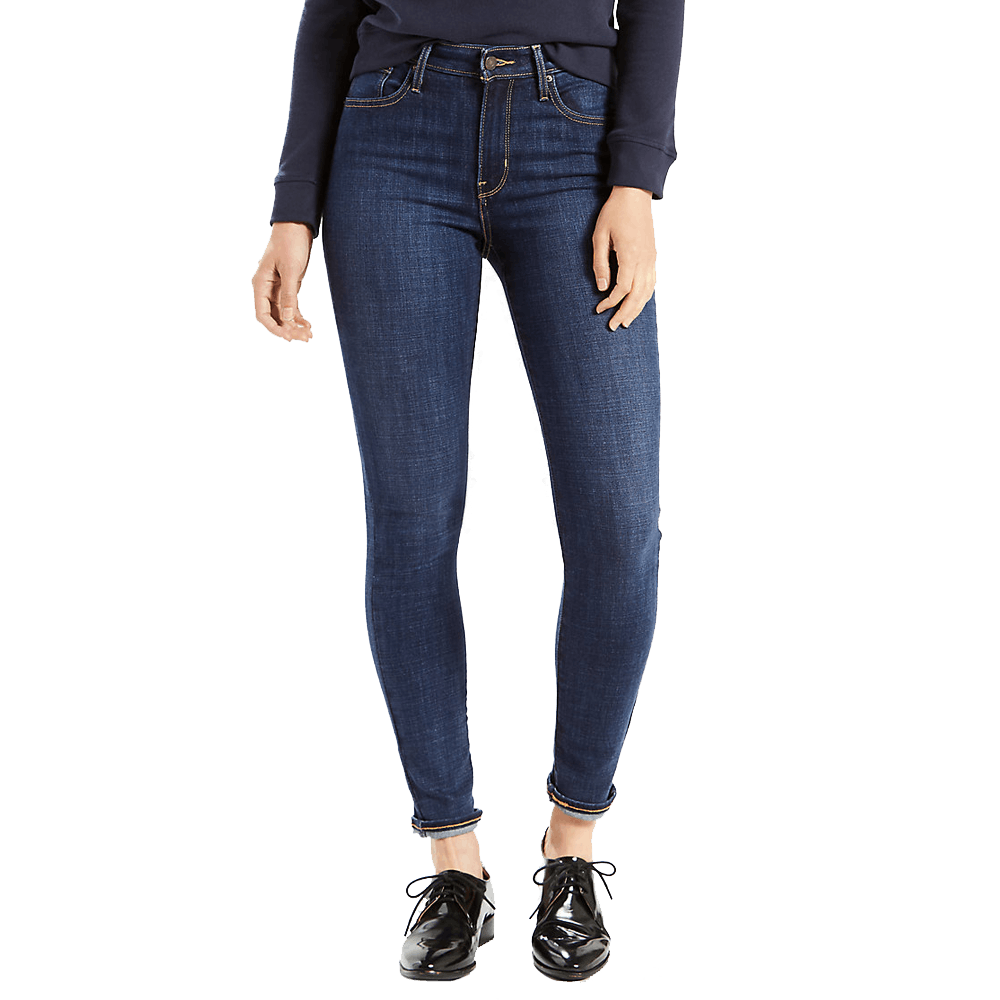 25x30 Women's 721 High Rise Skinny Jeans Blue Story