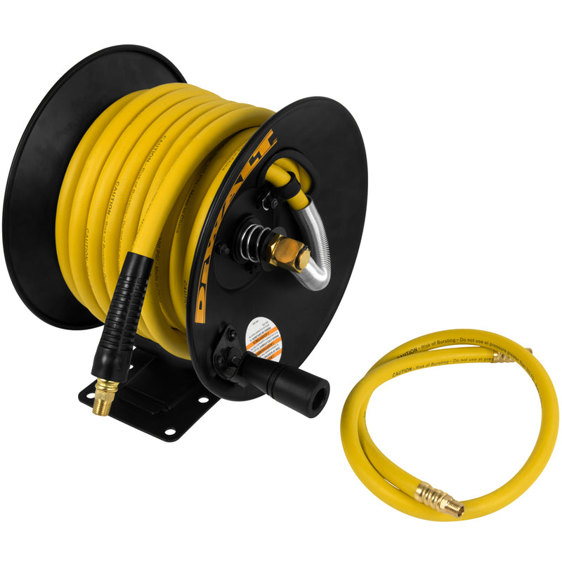 DeWalt 3/8-Inch x 50-Inch Manual Hose Reel