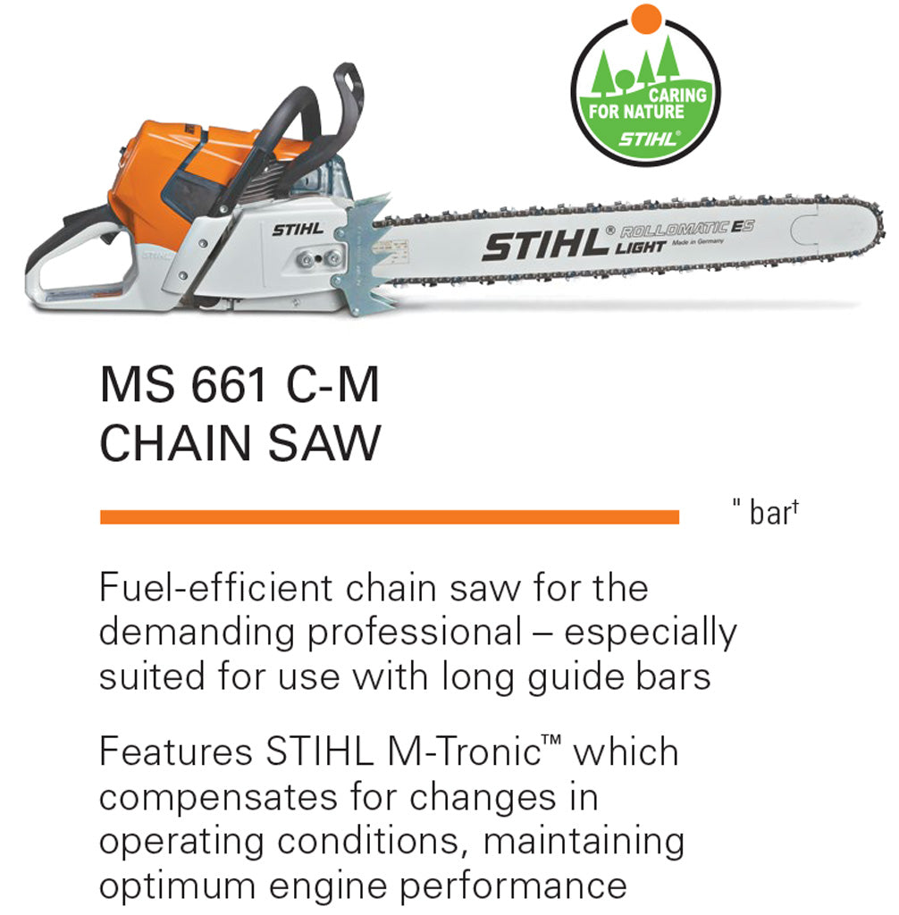 Stihl MS661R 32-Inch Chainsaw