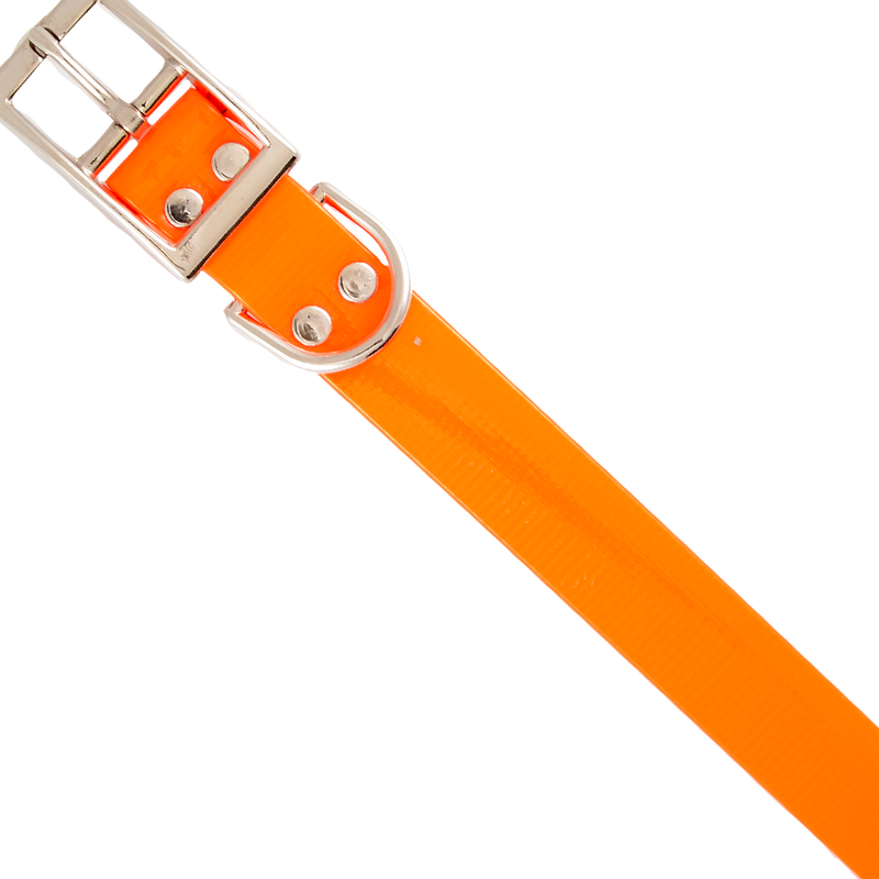 Mendota Safety Collar 1in x 16in Orange