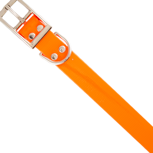 Mendota Safety Collar 1in x 22in Orange