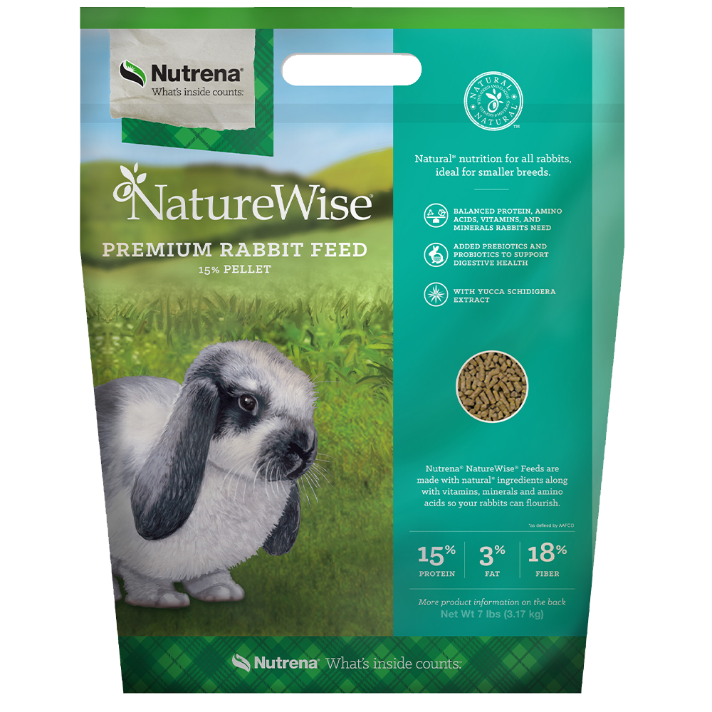 NatureWise 15% Premium Rabbit Feed 7-Lbs