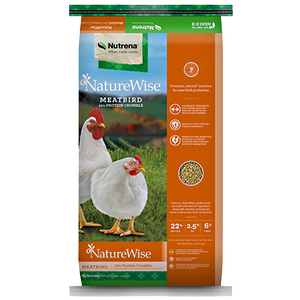 NatureWise Meatbird Crumble Feed 40-Lbs