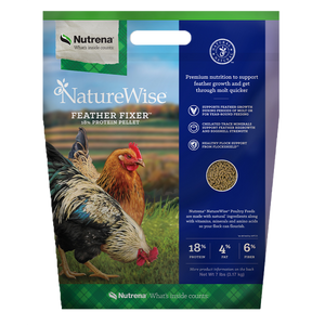 NatureWise Feather Fixer Chicken Feed 7-Lbs
