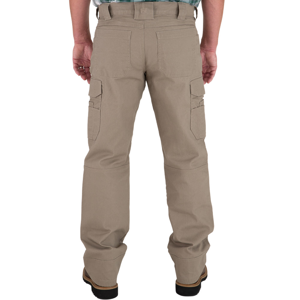 Mens 40X34 FullFlexx HD Hammerdrill Cargo Canvas Pant Dark Khaki