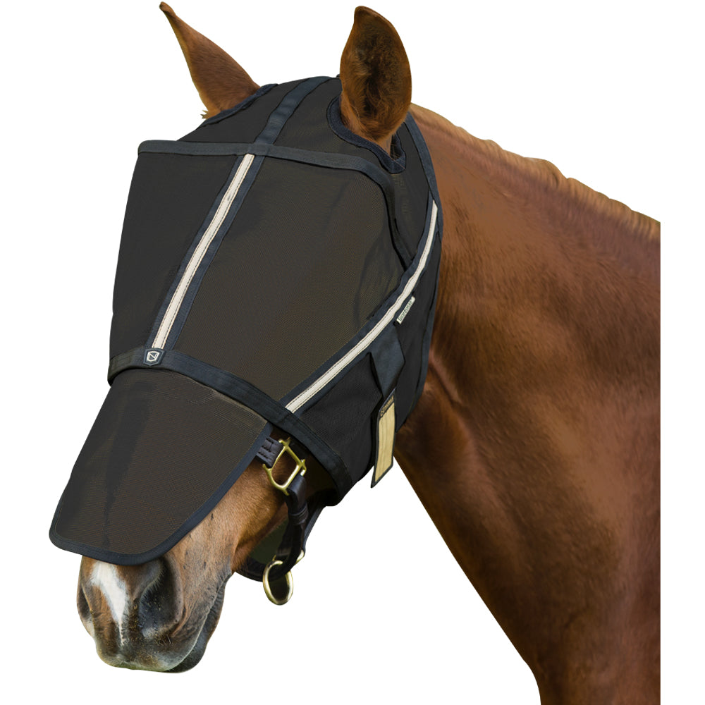 Guardsman Medium Fly Mask (No Ears) Black