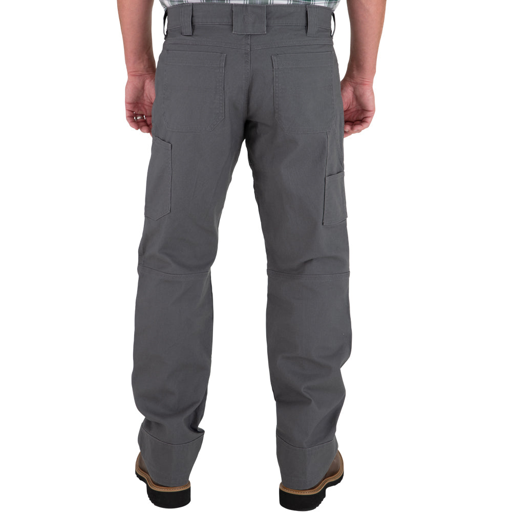 Mens 30x32 FullFlexx HD Hammerdrill Cargo Canvas Pant Wolf Grey