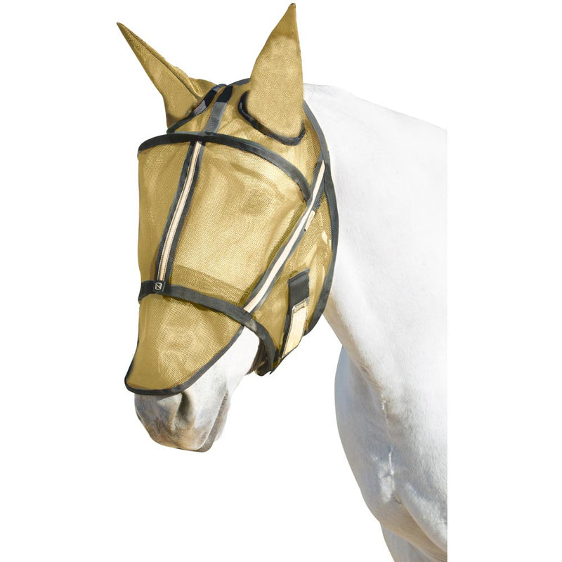 Guardsman X-Large Fly Mask With Ears Noble Gold