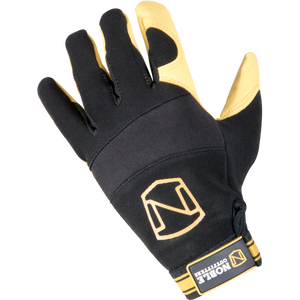 Noble Medium Maxvent Work Glove Black And Tan