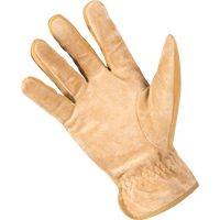 Noble Mens Medium Dakota Work Glove Tan