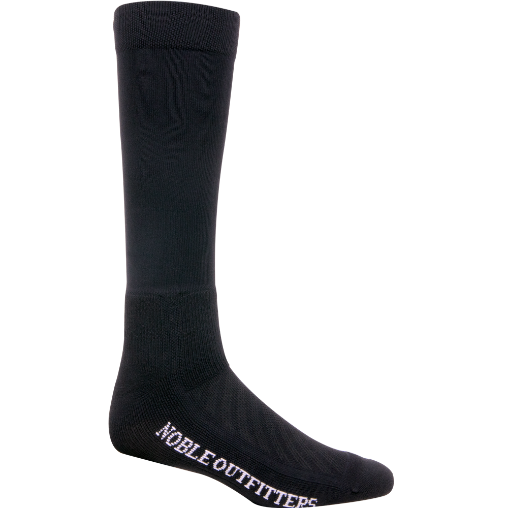 Noble Outfitter Medium Ultrathin Performance Boot Sock Black