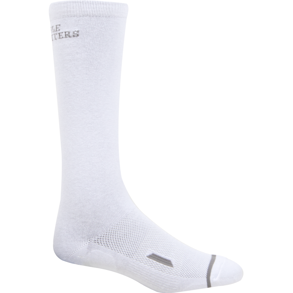 Noble Outfitters Large All-Around 2.0- Over The Calf Sock White