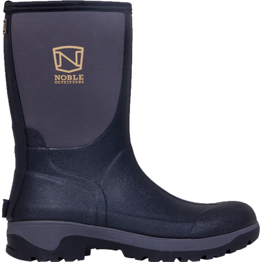 Noble Outfitters 12 Mens Muds Mid Black