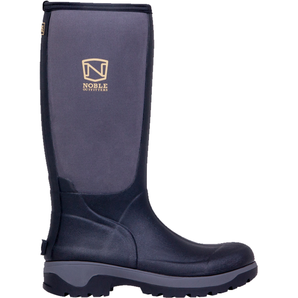 Noble Mens 8 Muds High Black