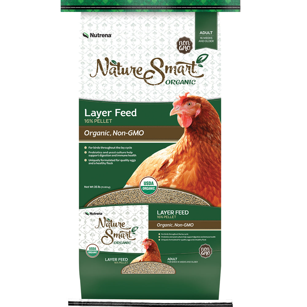 Nature Smart Organic Layer Pellet Chicken Feed 35-Lbs