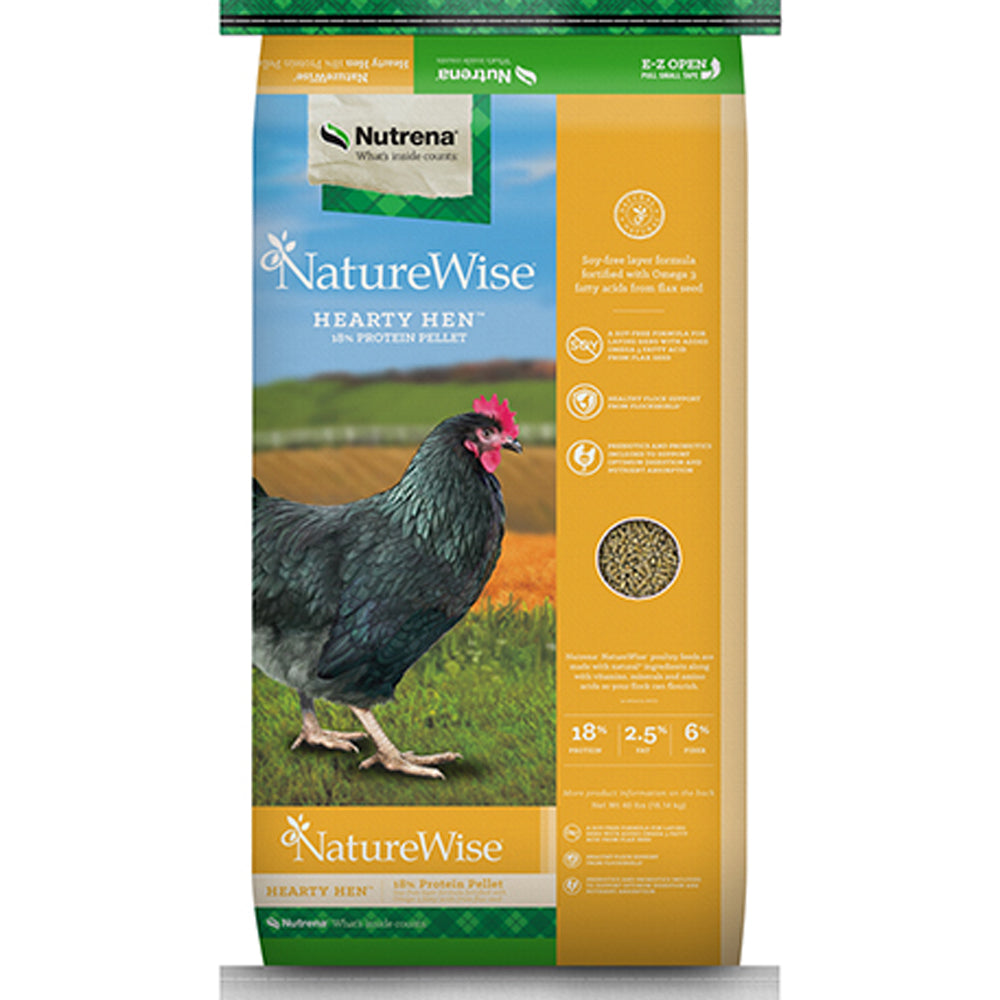 NatureWise Hearty Hen Pellet Feed 40-Lbs