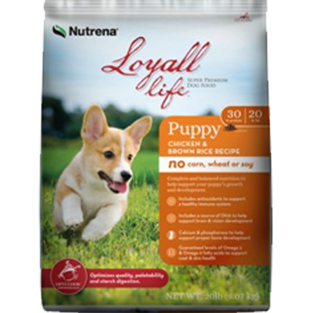 Nutrena Loyall Life Chicken And Rice Puppy Food 4 lb