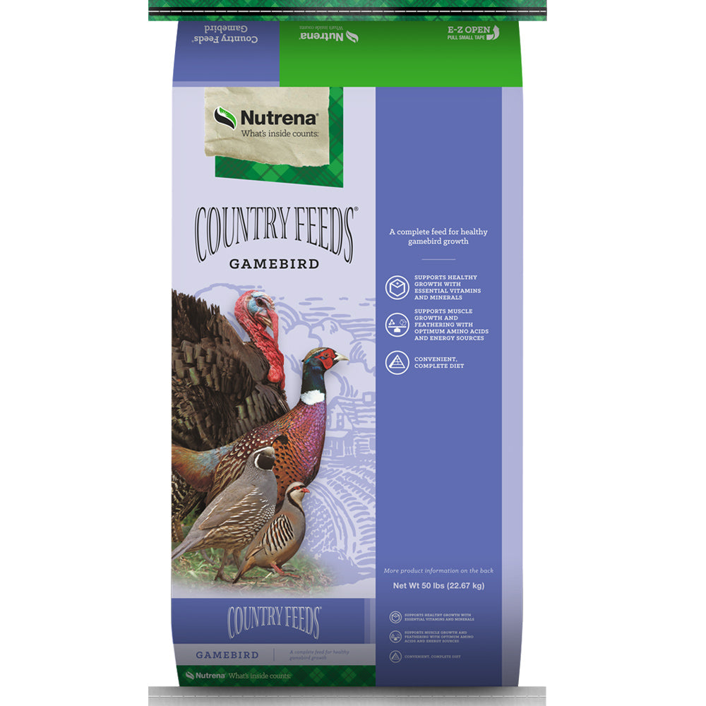 Country Feeds Gamebird Pelleted Feed 50-Lbs