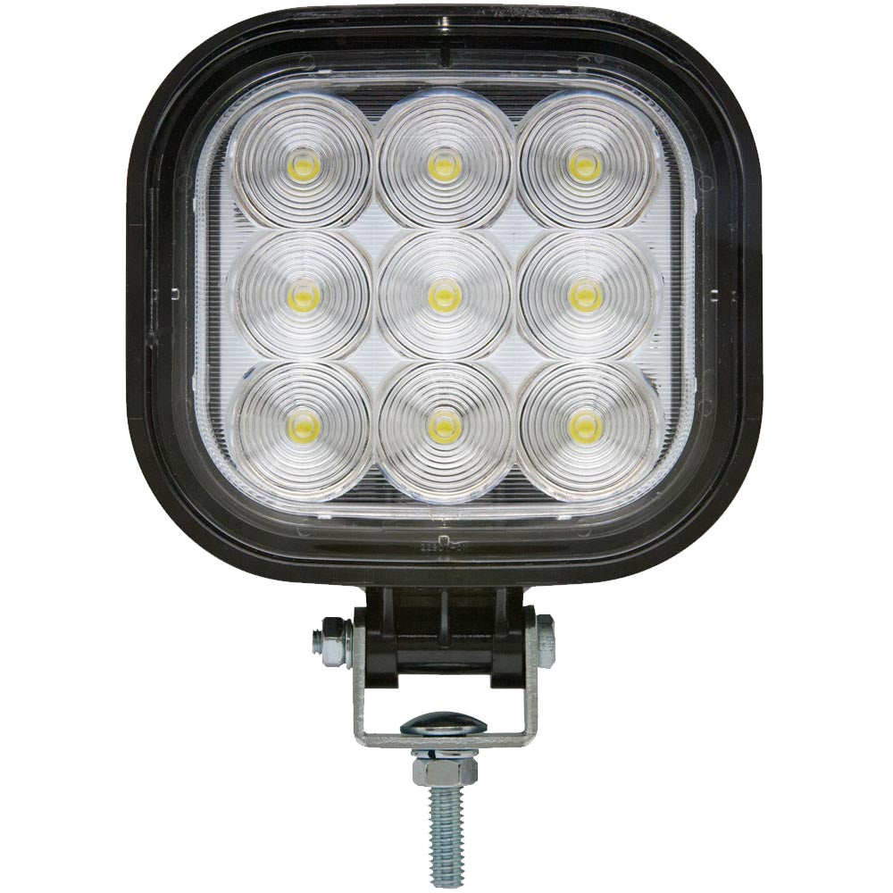 Square LED Work Light Flood Beam 12 to 24-Volt, TLL150FSL