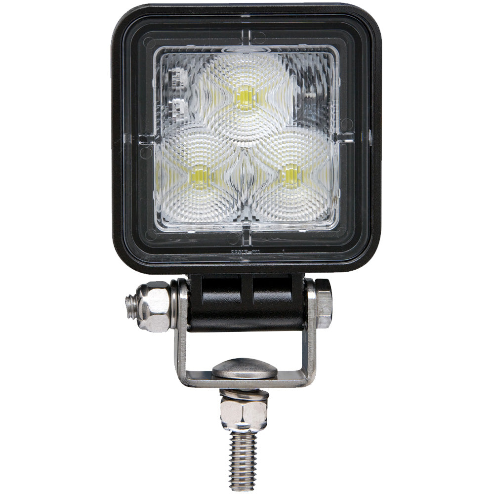 Square LED Work Light Flood Beam 12 to 24-Volt, TLL152FSL