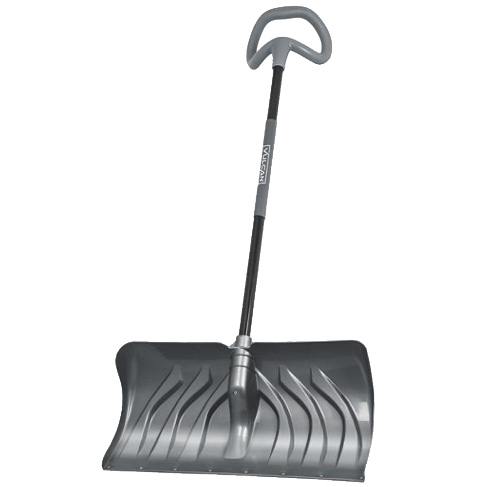Snow Pusher Shovel Ergonomic Grip - 24 Inch