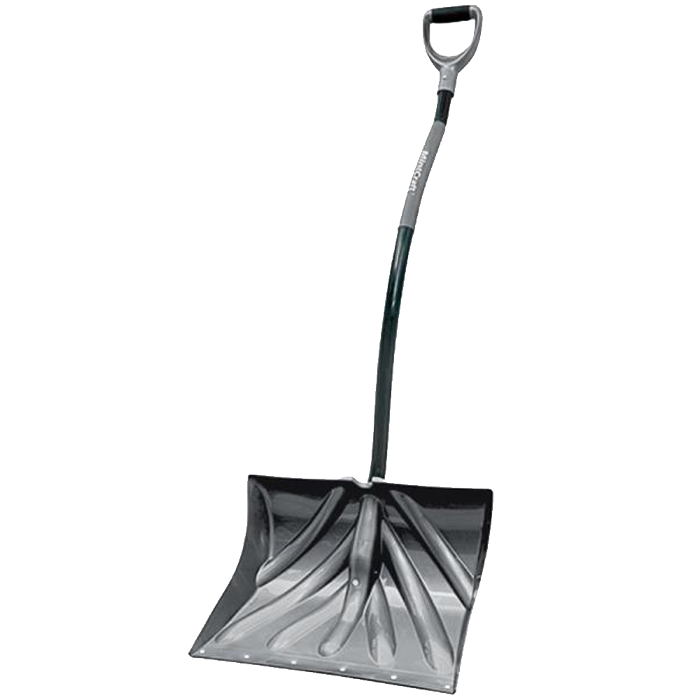 Snow Shovel Cushioned D-Grip - 18 Inch