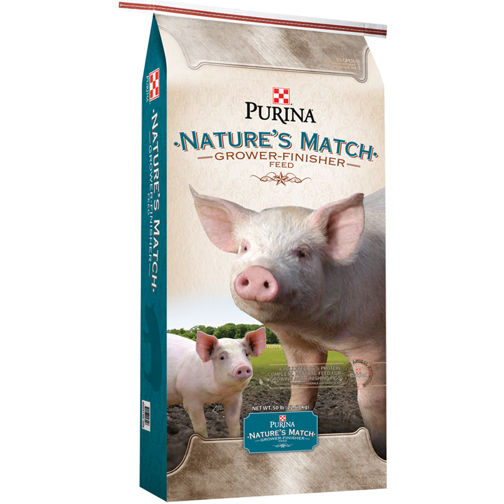 Purina Natures Match Grower-Finisher Complete 50-Lbs