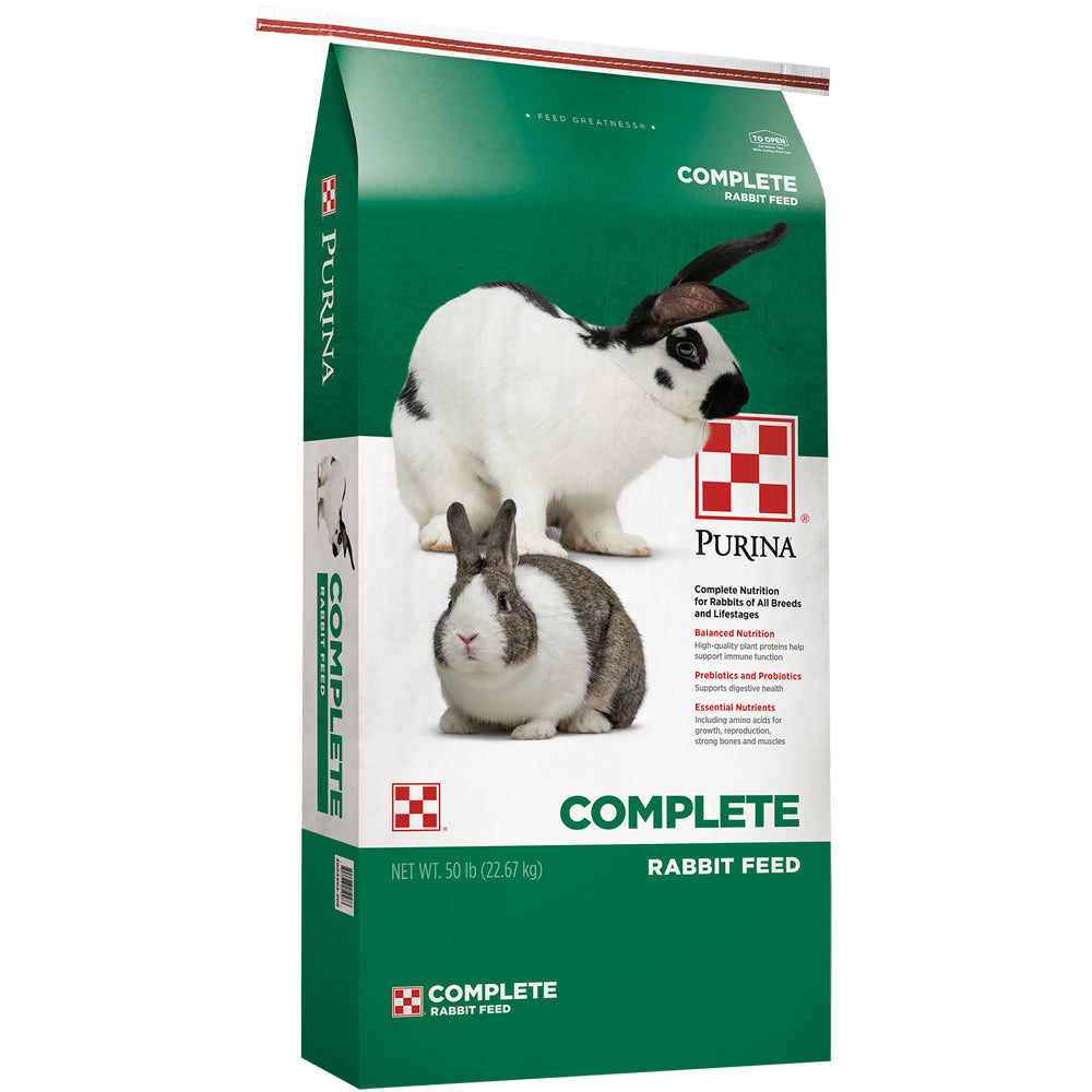 Purina Complete Rabbit Feed 50-Lbs