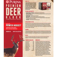 Purina Premium Deer Block 20-Lbs