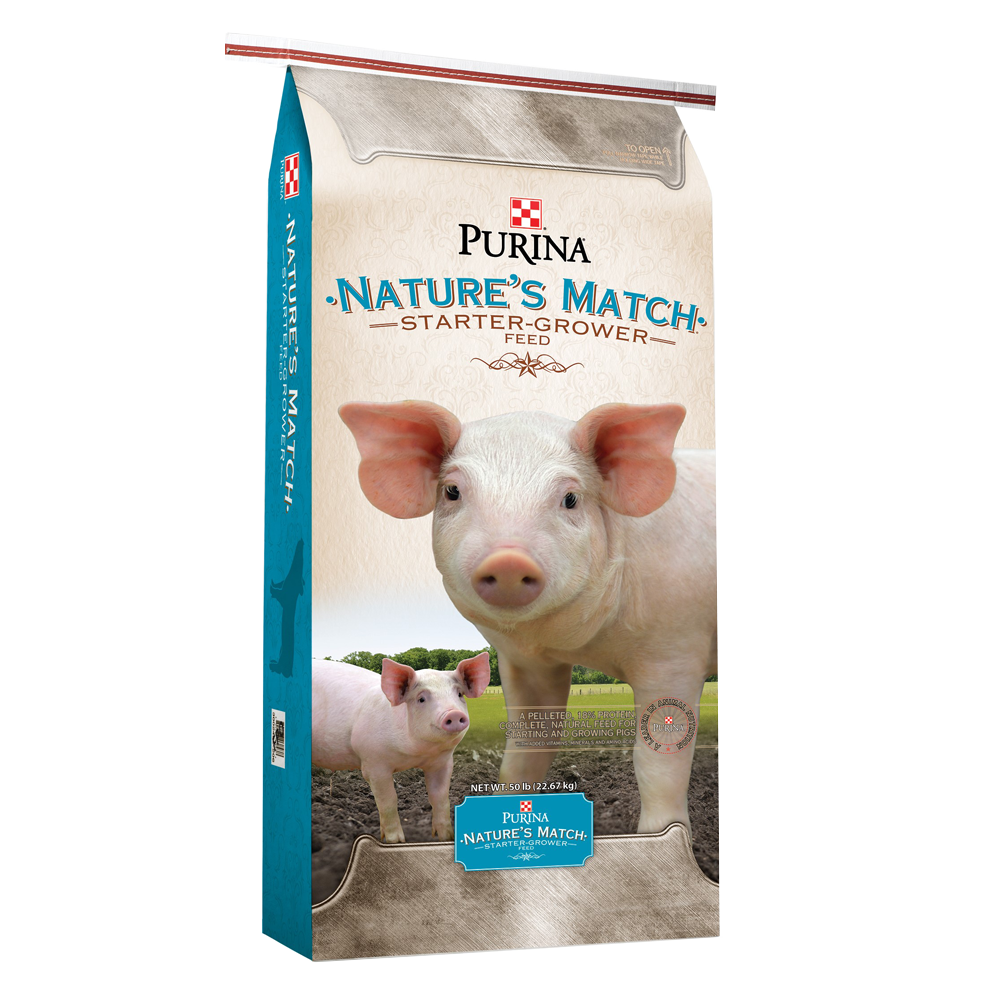 Purina Natures Match Starter-Grower 50-Lbs