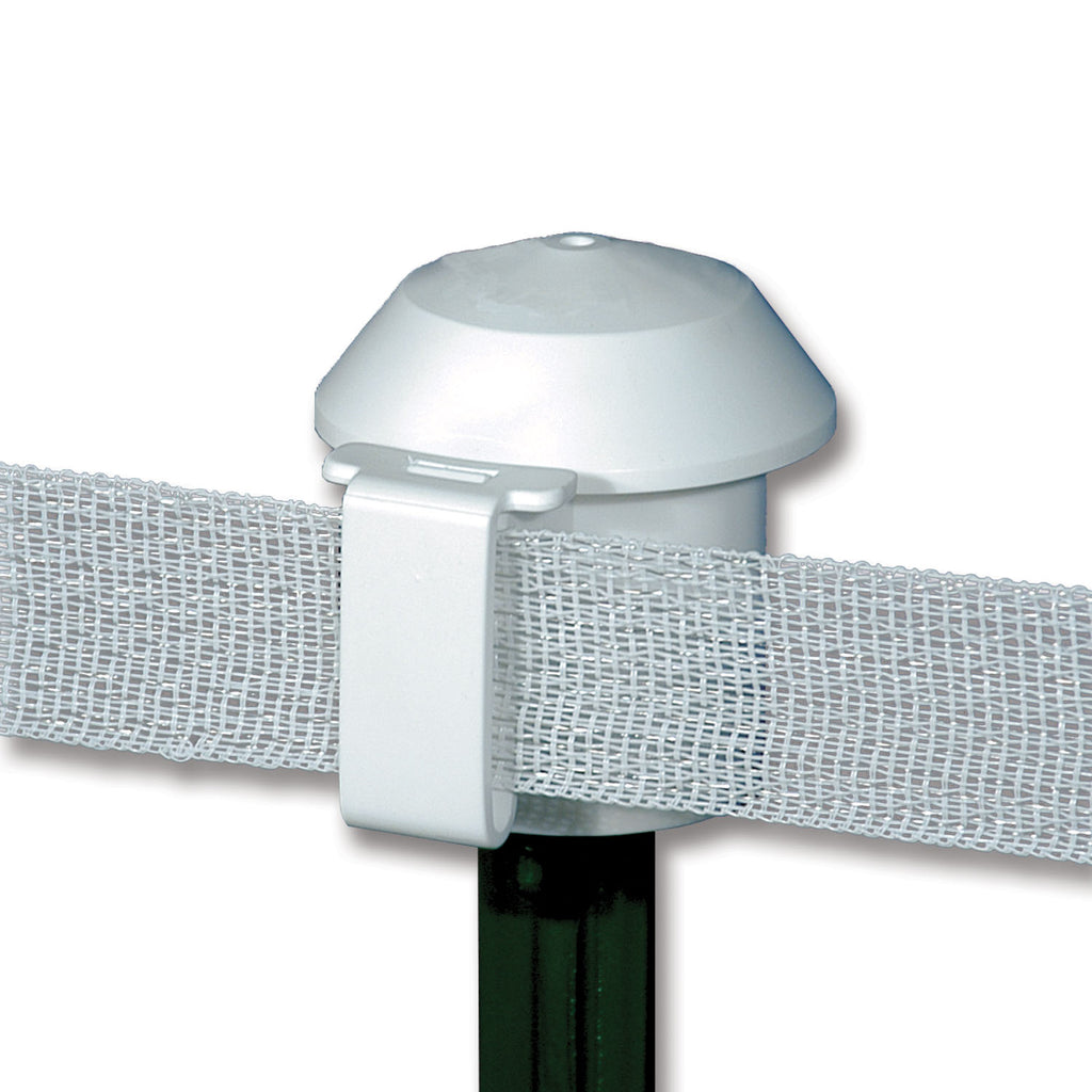 T-Post Safety Cap Insulator White