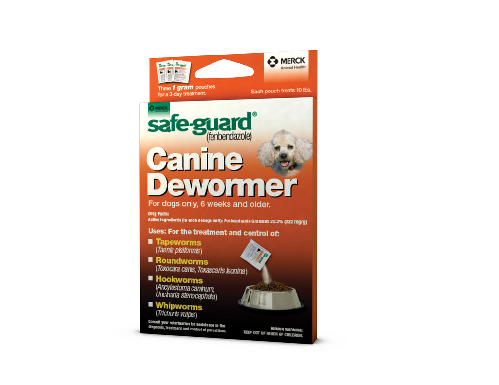 Safeguard Canine Dewormer 1gm