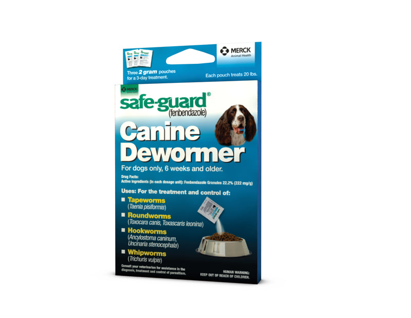 Safeguard Canine Dewormer 2gm