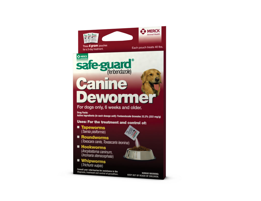 Safeguard Canine Dewormer 4gm