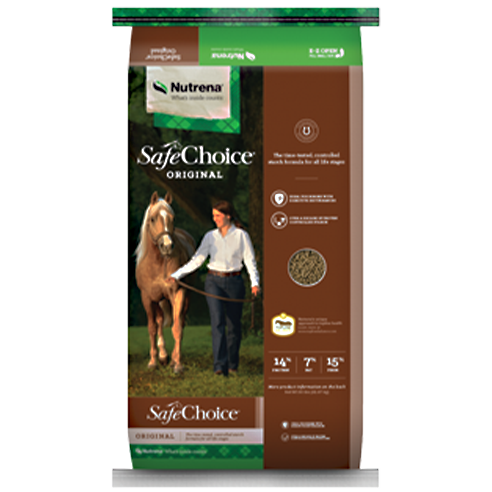 SafeChoice Original Horse Feed 50-Lbs