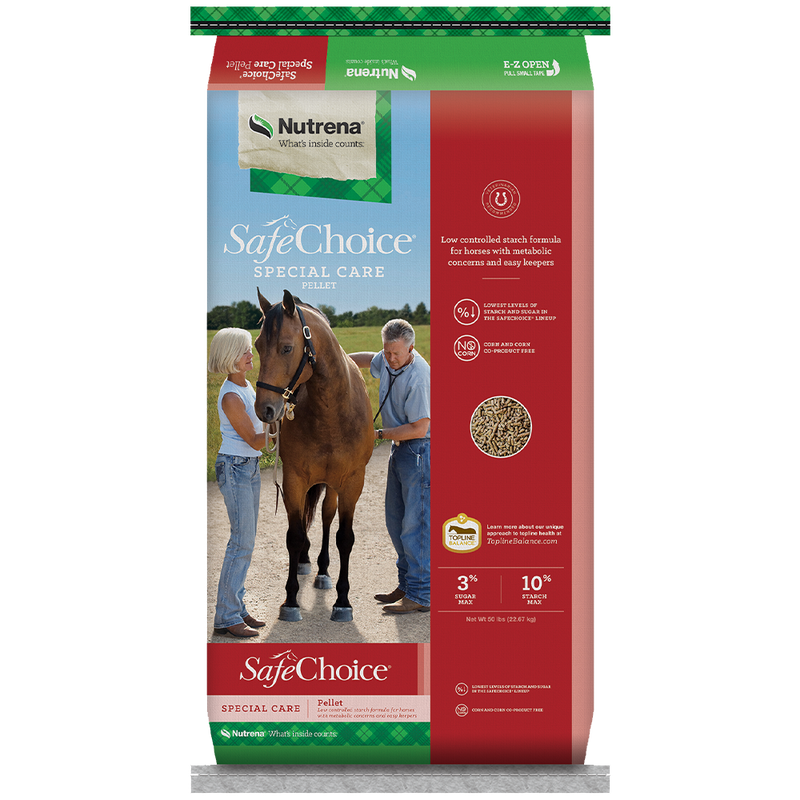 SafeChoice Special Care Horse Feed 50-Lbs