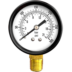 Connect Pressure Gauge
