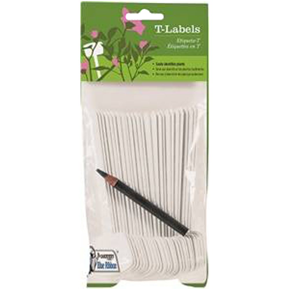 Gardeners Blue Ribbon T-Label 25-Pack