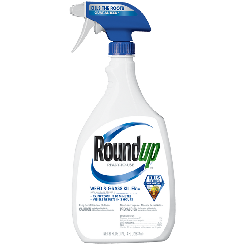 Roundup Ready-To-Use Weed & Grass Killer III 24-30-oz