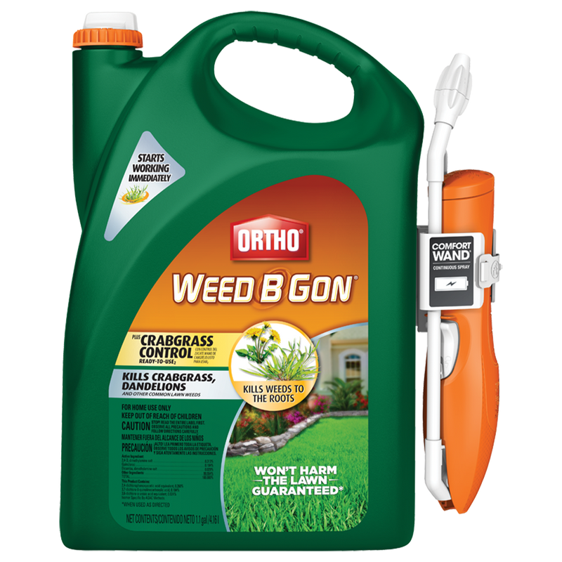 Ortho Weed B Gon Plus Crabgrass Control Ready-To-Use 1.1-gal