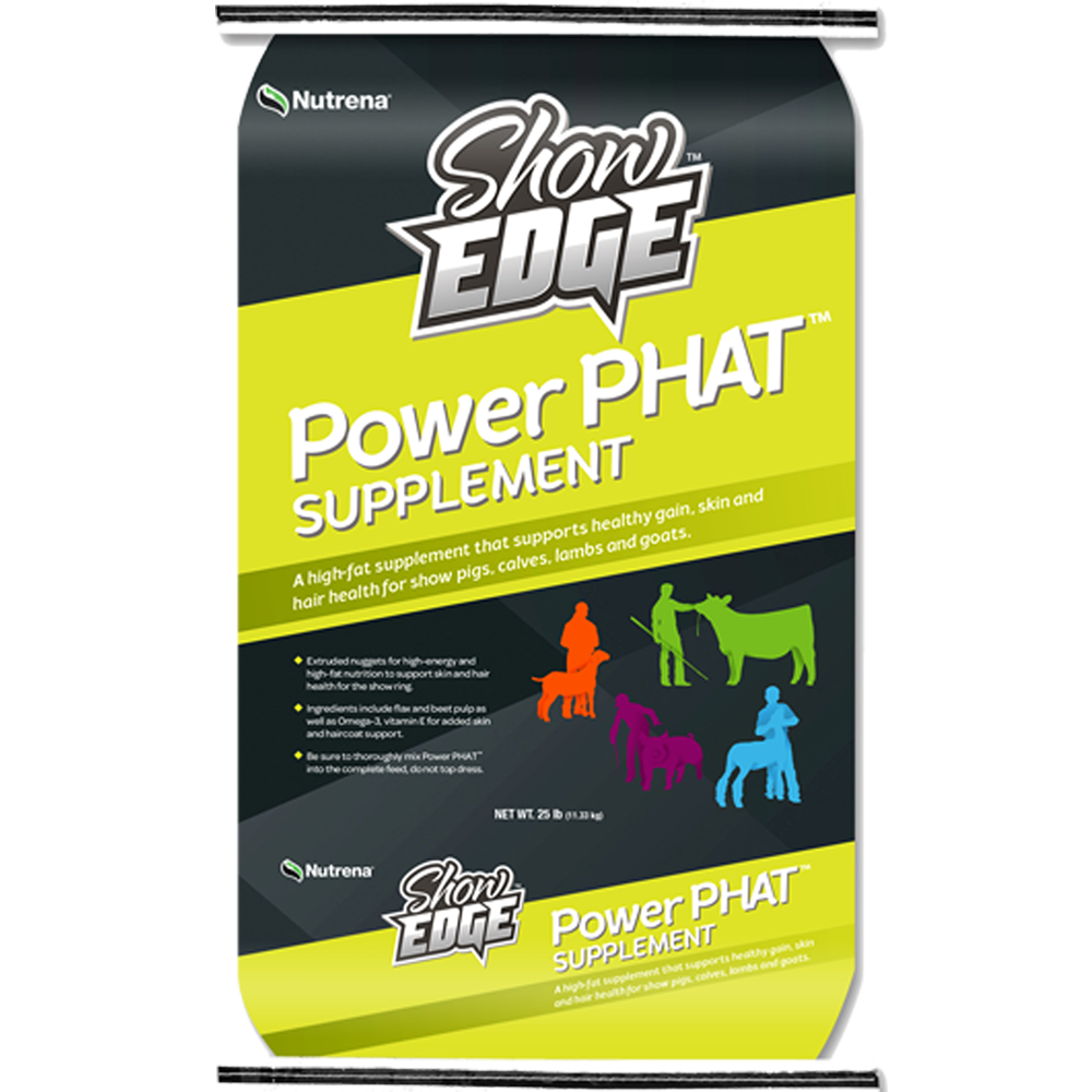 Show Edge Power Phat Supplement 25-Lbs